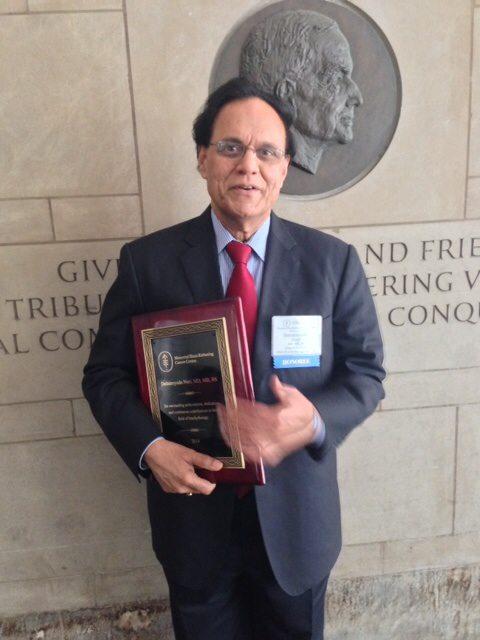 Dattatreyudu Nori Indian American oncologist Dattatreyudu Nori honored by the Memorial