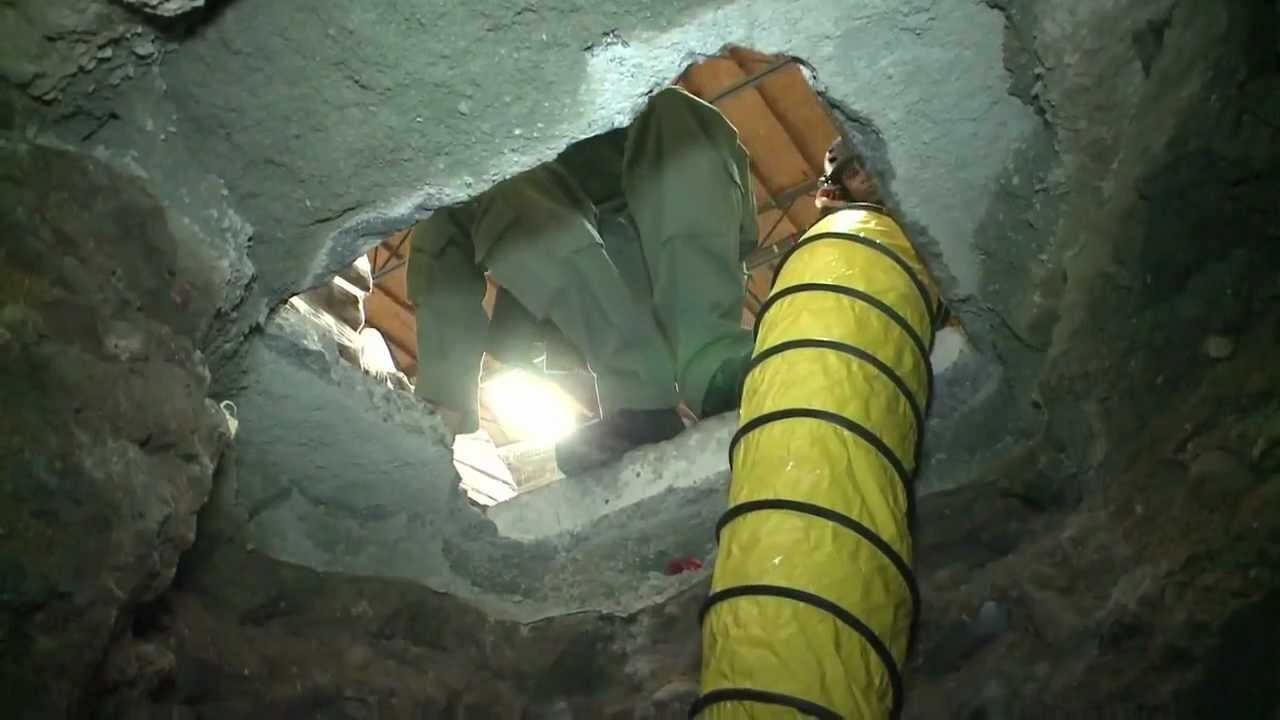 Longest MexicoCalifornia drug tunnel discovered  The