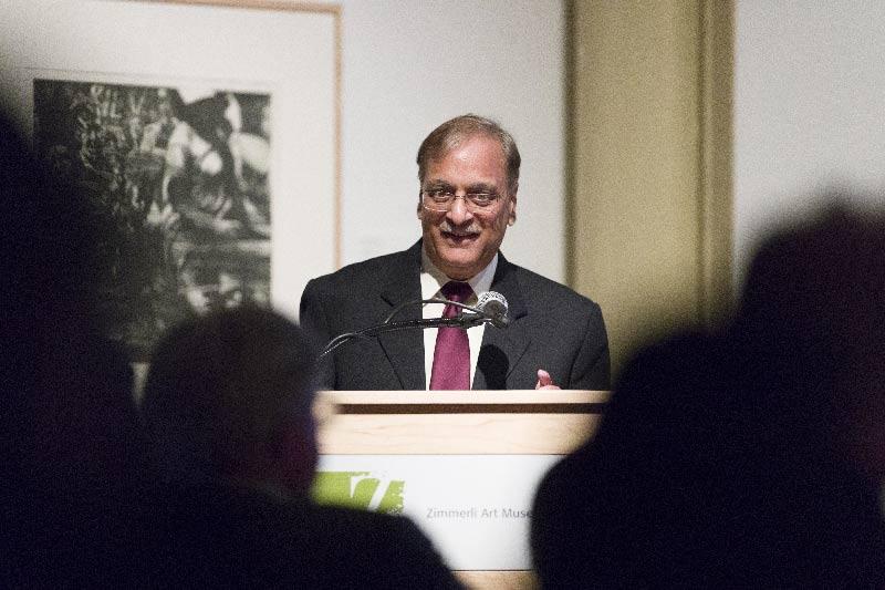 The new ICCR Chair of Indian Studies at Rutgers Binod Khadria