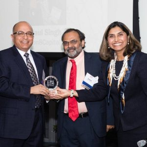 Paul Singh gets TiE DC Legends Award