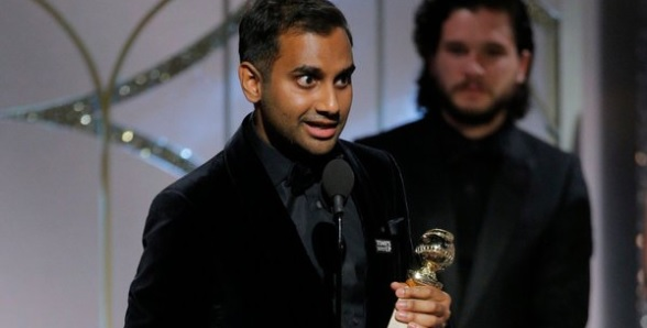 Aziz Ismail Ansari won Best Actor in Golden Globe Award