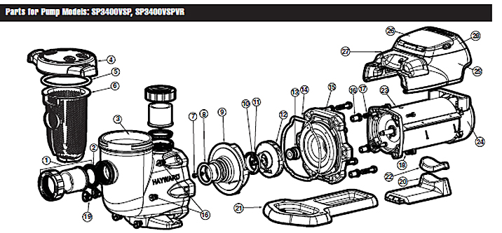 Hayward Tristar Wiring Diagram Hayward Heater Diagram