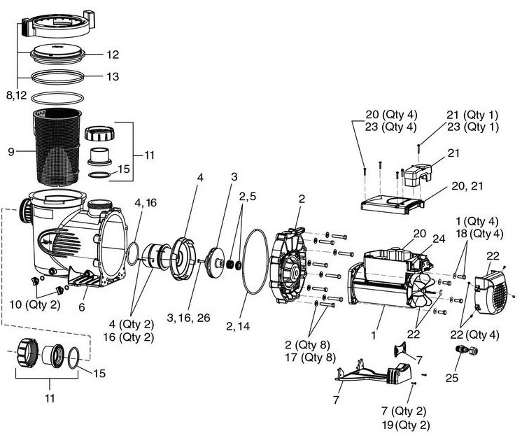 Pentair 2 Sd Pool Pump Wiring Diagram 3 Speed Blower Motor