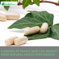 Four Groups of People Who Can Benefit from Natural Health Supplements