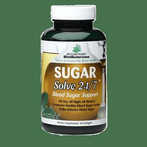 Sugar Solve blood glucose support