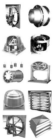 Industrial Ventilators, Fans, Blowers / Buffalo, New York