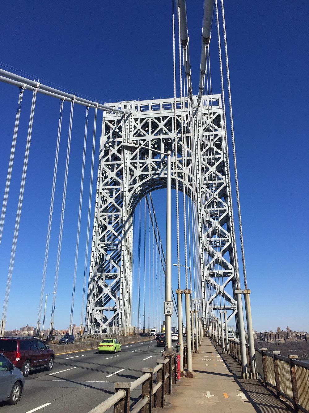 George Washington Bridge Span Upper Level Structural Steel Rehabilitation - American Bridge