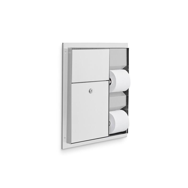 AJW Commercial Washroom Accessories U865 Dual Toilet