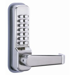 Industrial Kitchen Faucets White Furniture Codelocks Cl400 Series Mechanical Lock Door Lever
