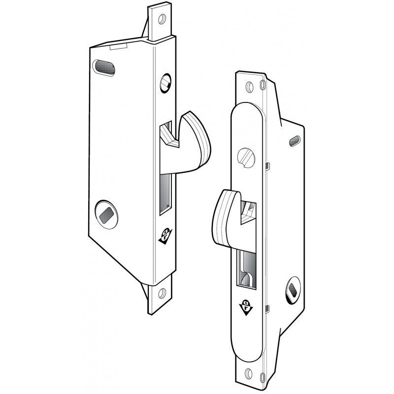 Adams Rite MS1847 Series MS® Deadlock/Deadlatch for Ultra