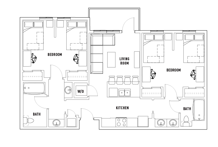 floor plans 2125 franklin