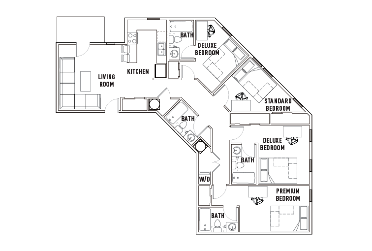 floor plans chauncey square
