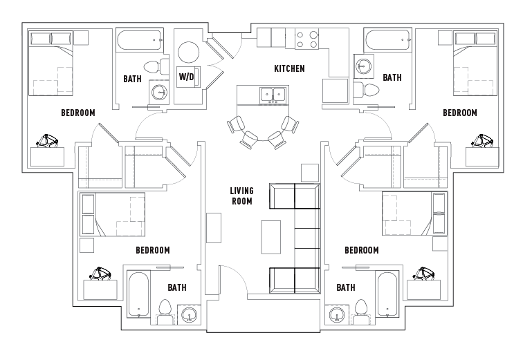 floor plans plaza on