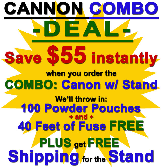 The American Cannons combo deal