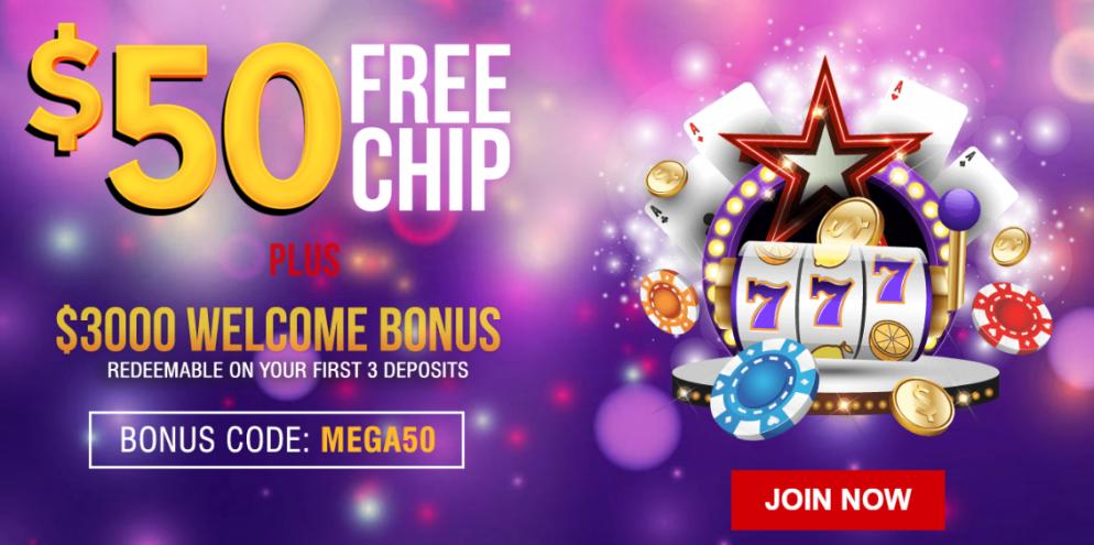 Mega7s Casino No Deposit Bonus $50 FREE |American Casino Bonuses