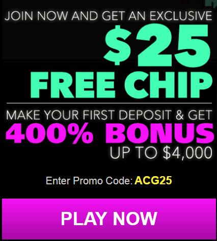 Uptown Aces Casino No Deposit Bonus $25 FREE!