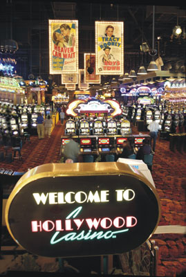The casino at Hollywood Tunica