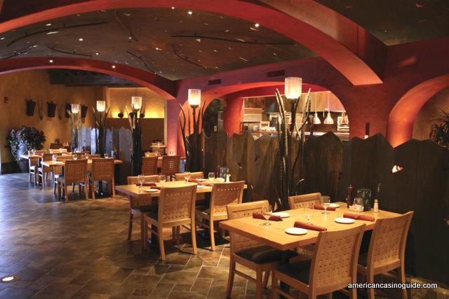 Journey Wood Fired Steaks inside The Argosy Casino Hotel & Spa