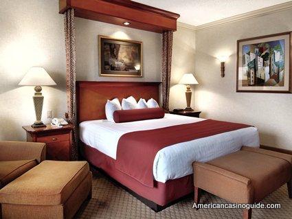 A Standard Hotel Room at Harrah's Joliet