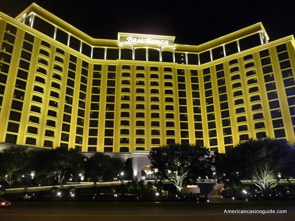 beau rivage resort and casino in Biloxi