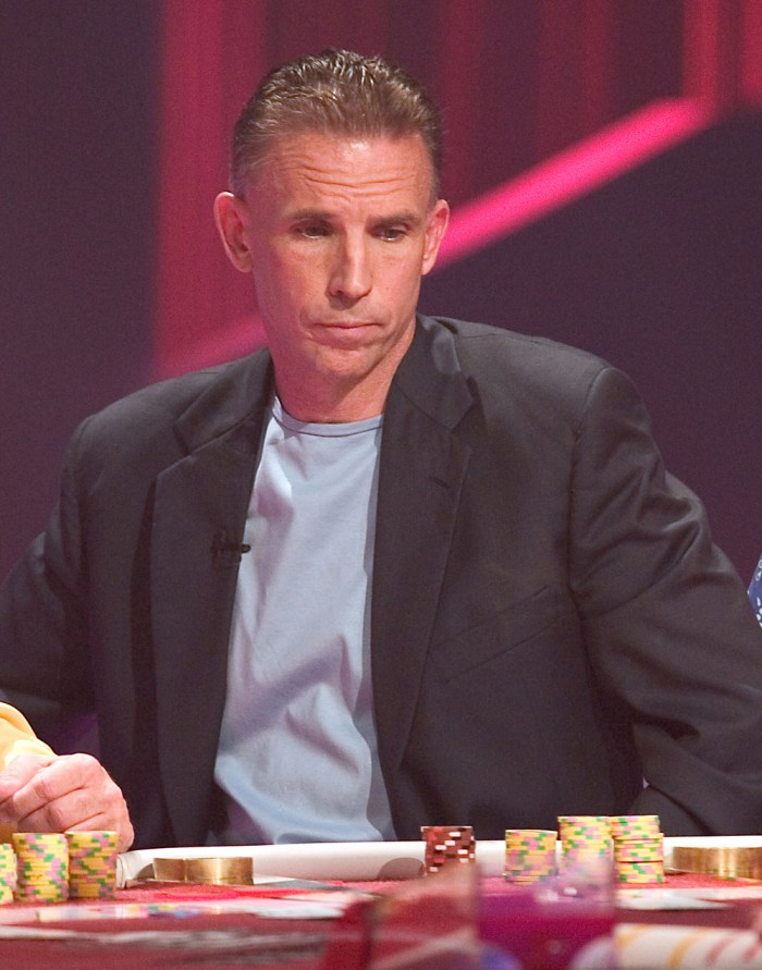 Anthony Curtis at the Ultimate Blackjack Tournament