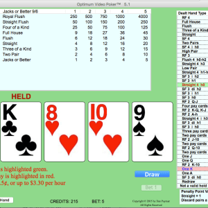 Optimum Video Poker version 5.1