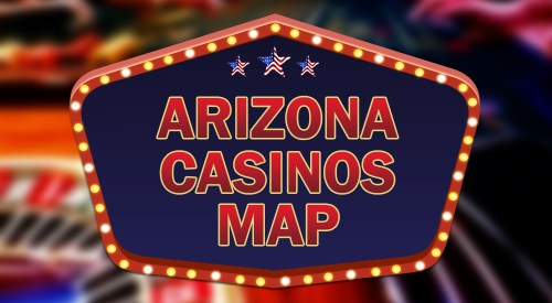 Arizona casinos map