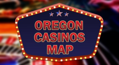Oregon casinos map
