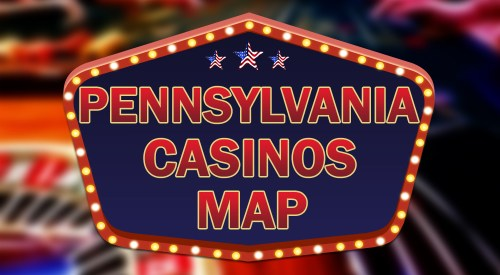 Pennsylvania casinos map