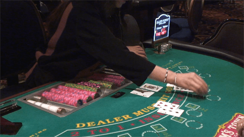 blackjack dealer with 21 | American Casino Guide Book