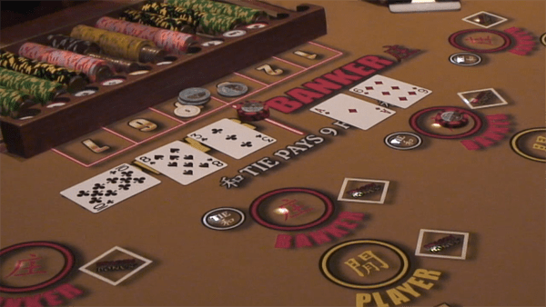 banker hand win in baccarat