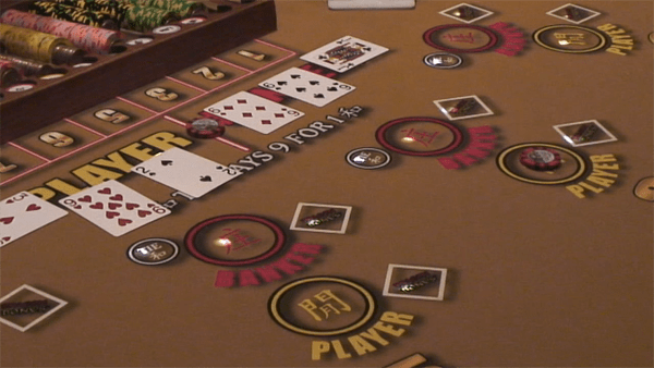 player hand win in baccarat