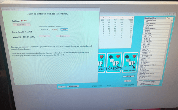 video poker training software