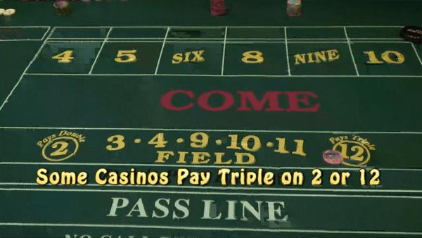the field bet in craps