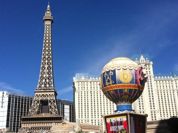 The Paris Las Vegas Casino resort