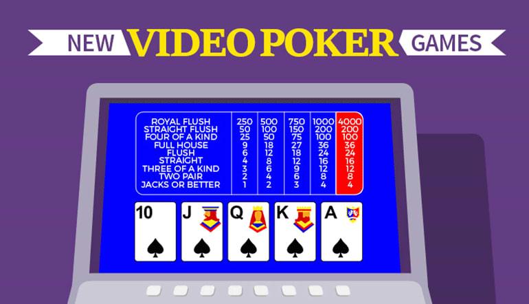 2021 new video poker games