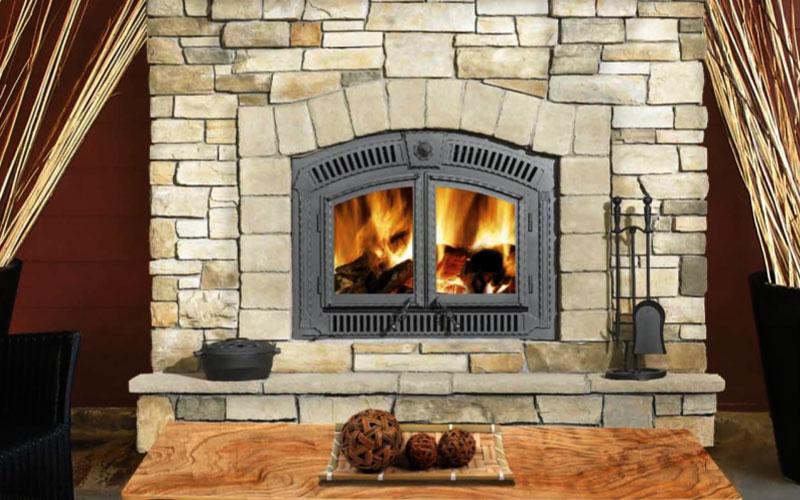 Wood Inserts  American Chimney  Fireplace