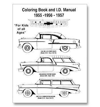 Books and literature for your classic Chevy truck 1955-59
