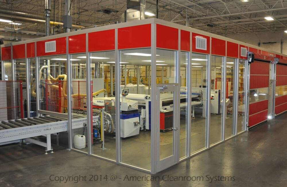 American Cleanroom Systems Complete Cleanroom Systems