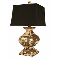 Old World Wooden Lamp | American Country
