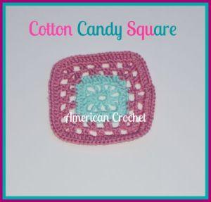 Cotton Candy Square