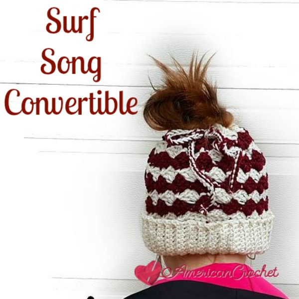 Surf Song Convertible | Crochet Pattern | American Crochet @americancrochet.com #crochetpattern