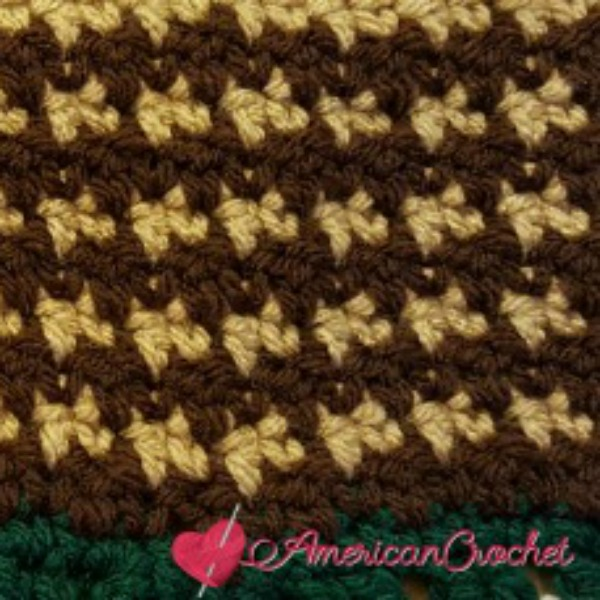 Fields Of Flowers Afghan ~ Part Two & Six | Free Crochet Pattern | American Crochet @americancrochet.com #freecrochetpattern #freecrochetalong