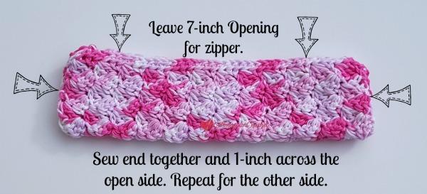 Strawberry Cream Pencil Case | Free Crochet Pattern | American Crochet @americancrochet.com #freecrochetpattern