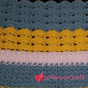 Winter Wonder Blanket Part Four | American Crochet @americancrochet.com #americancrochet #crochetalong