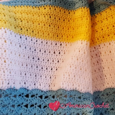 Winter Wonder Blanket Part Five