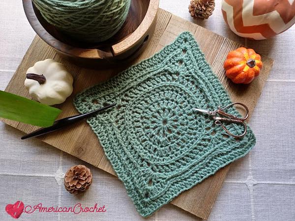 AC-RWS-CAL-Square Seven | American Crochet @americancrochet.com