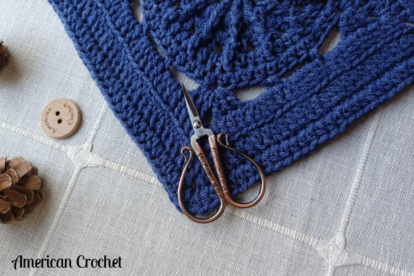 Back-raods Square   Crochet Pattern   American Crochet @americancrochet.com