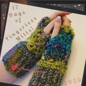 17 Days of Fingerless Mitts Club | American Crochet @americancrochet.com