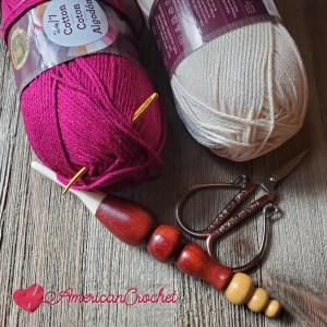 Bramble Stitch | American Crochet @americanccrochet.com
